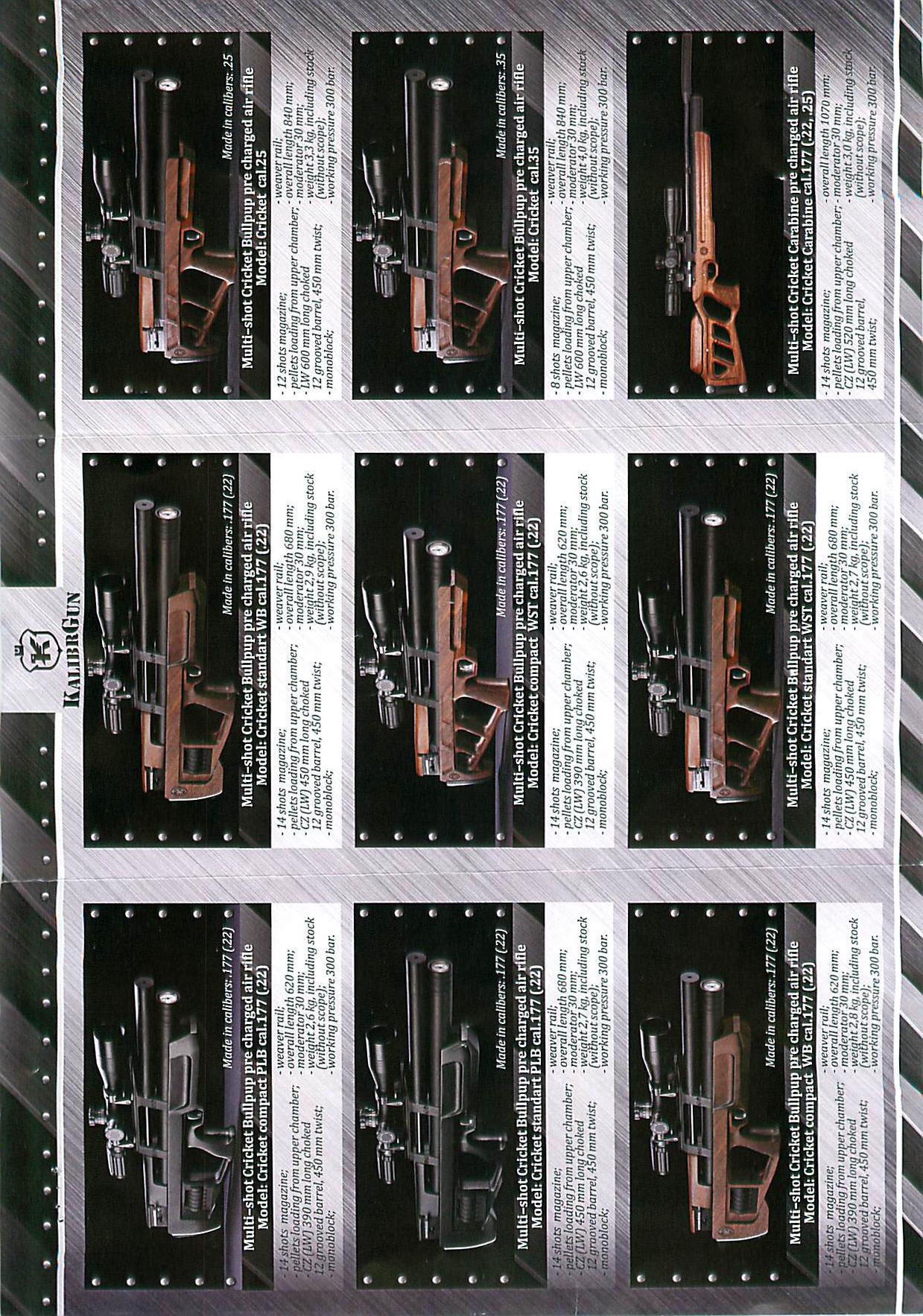 real Kalibre brochure p 2